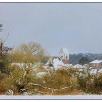 Niederbexbach im Winter