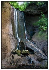 Wasserfall, Wolfsschlucht